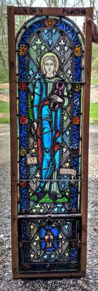 Saint-Agatha-Stained-Glass-Window