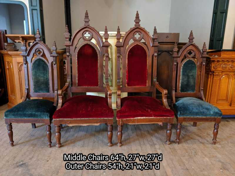 A-set-of-Priest-Chairs
