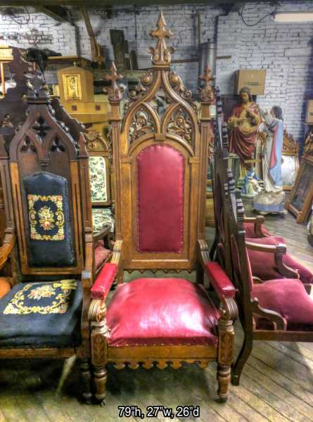 Catholic-Church-Antique-Chair-2
