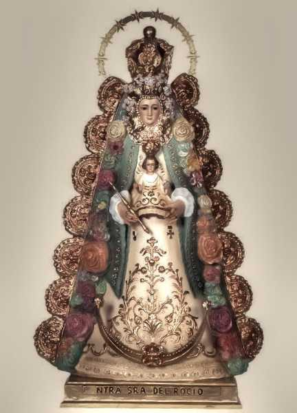 Our-Lady-of-El-Rocio-Statue