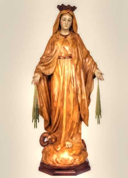 Our-Lady-of-the-Miraculous-Medal-Statue