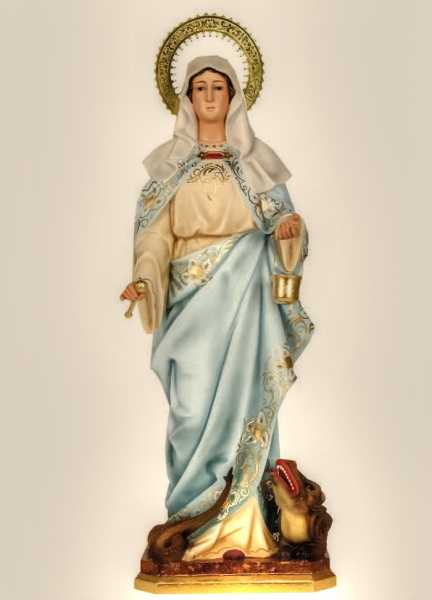 Saint-Martha-of-Bethany-Statue