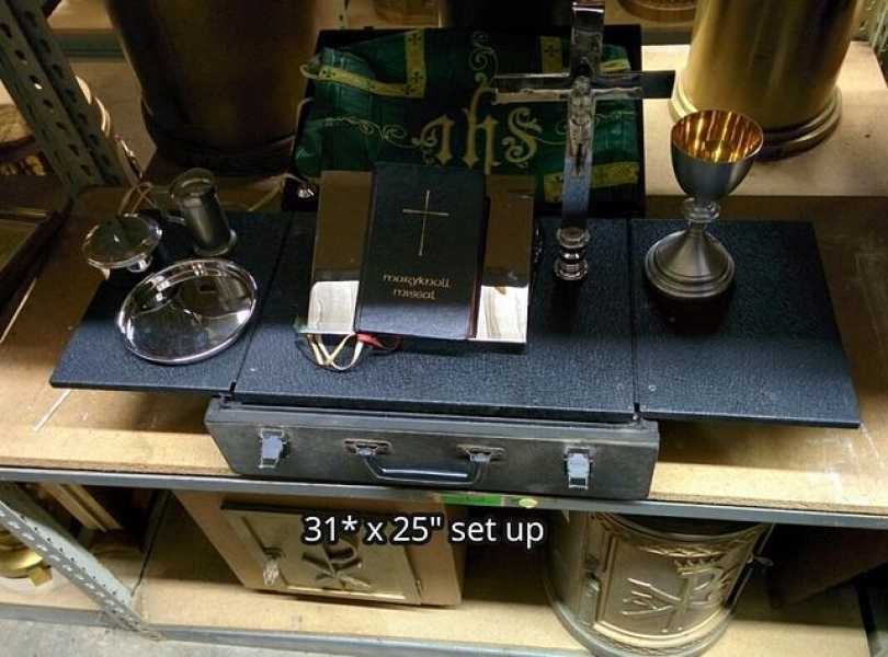 Used-Church-Items-Travel-Military-Mass-Kit