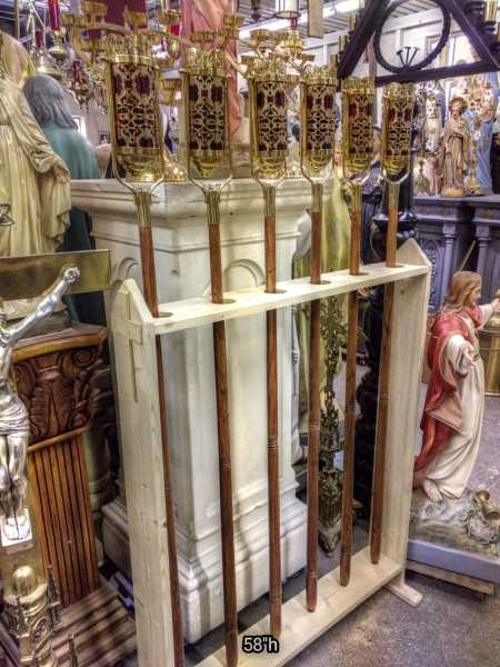 An-Elegant-Ornate-Swinging-Processional-Torches