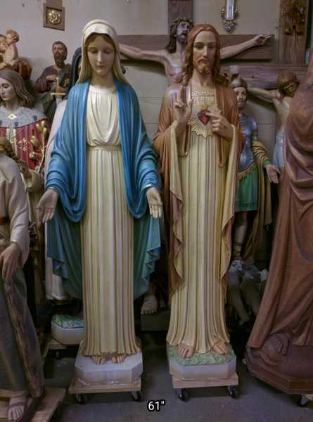 Mary-and-Jesus-Statue-Set